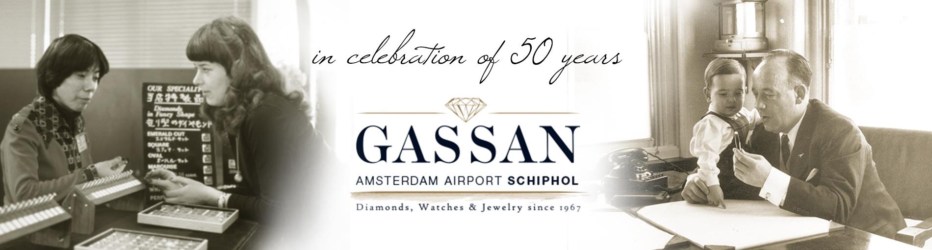 In 2017 vierde GASSAN haar vijftigjarig bestaan als business partner van Amsterdam Airport Schiphol. Gassan representeert betrouwbaarheid en service.